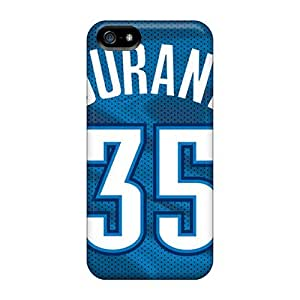 Excellent Hard Phone Cases For Iphone 5/5s With Custom Beautiful Oklahoma City Thunder Series PhilHolmes