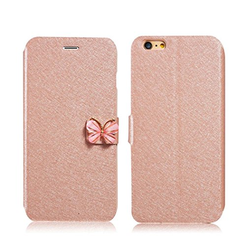 iPhone GBSELL Butterfly Leather Magnetic