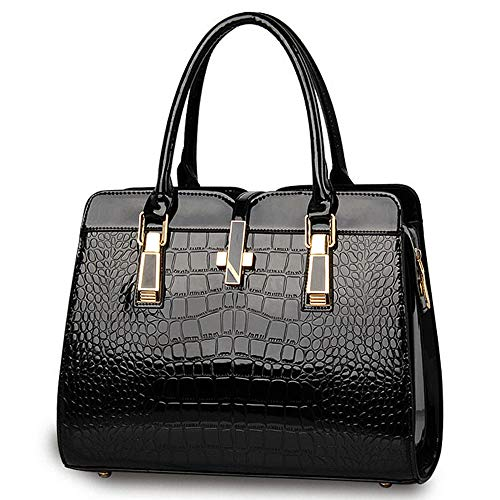 Shoulder Bags PU Women Crossbody Ladies Leather Black Handbags BestoU nxqTwAYvBO