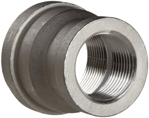 Stainless Steel 316 Cast Pipe Fitting, Reducing Coupling, MSS SP-114, 1-1/4