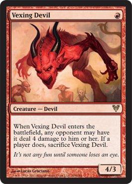 vexing devil mtg - 1