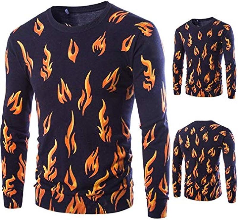 Męski wiosna jesień długi rękaw sweter casual Fashion okrągły dekolt Classic Knit sweter dziergany sweter chłopięcy: Odzież