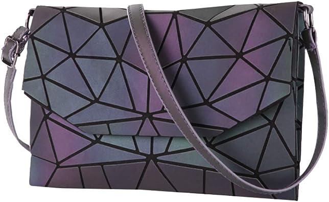 geometric crossbody bag