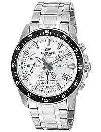 Casio Men's 'Edifice' Quartz Stainless Steel Casual Watch, Color Silver-Toned (Model: EFV-540D-7AVUDF)