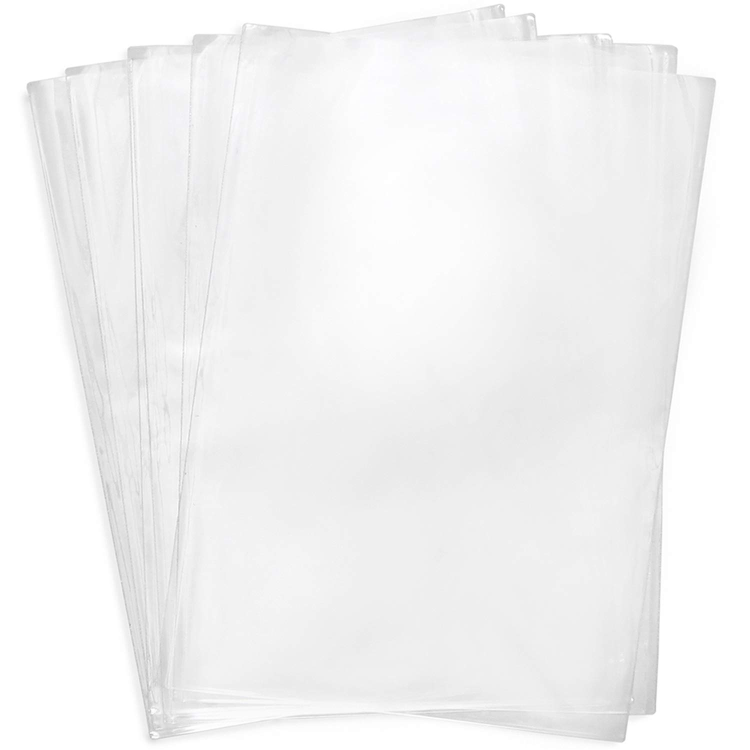 Shrink Wrap Bags,100 Pcs 8x12 Inches PVC Heat Shrink Wrap for Packagaing Soap,Shoes,Bath Bombs, Film DVD/CD, Giftware, Candles,Gifts,Homemade DIY Projects
