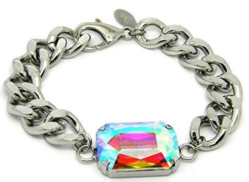 Chain Industrial Link Bracelet - Zbella 7.5