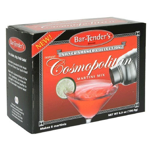 - Bar-Tenders Instant Cosmopolitan Martini Cocktail Mix (6 Pouches)