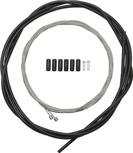 - SHIMANO Road Shift Cable and Housing Set (Black)