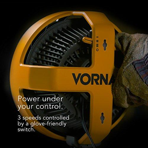 Vornado EXO5 Air Circulator with High-Impact Housing, Tripod Base, Attachment