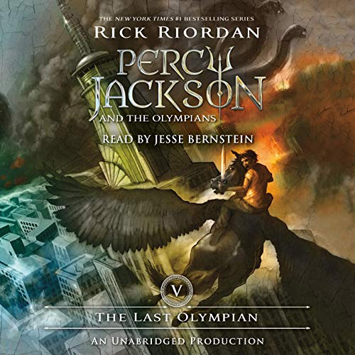 The Last Olympian: Percy Jackson and the Olympians, Book 5 (Percy Jackson & The Olympians The Last Olympian)