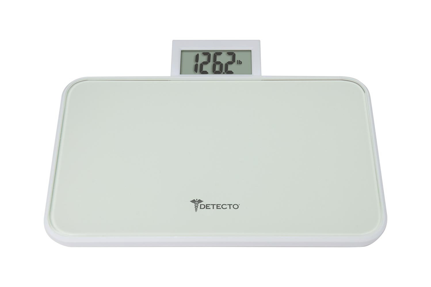 Detecto Small Platform Glass Digital Scale with Pop up Display