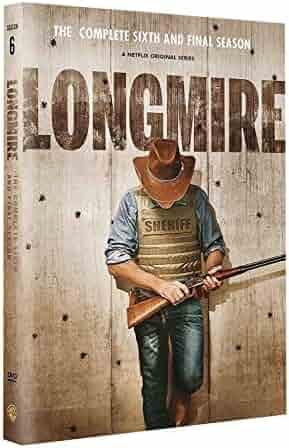 MaX Longmire Season 6 DVD (3 Disc set) Next Day Shipping