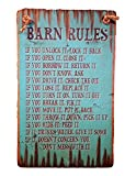 Cowboy Signs Wood Wall Hanging Ranch Western Barn Rules Turquoise 8205