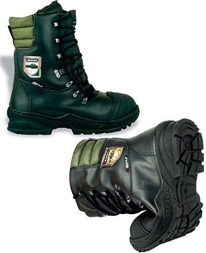Cofra, 21500-000, Logger tagliati stivali Power protection, visto classe di protezione 2, taglia 44, nero