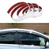 ALAVENTE Car Chrome Moulding Trim Strip For Window Bumper Grille Silver Line (5 Meter X 25mm - 16.4ft x 1