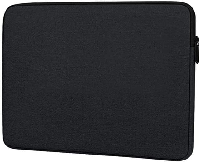 13.3 15.6 inch Laptop Bag Sleeve Case Notebook Cover Protective Pouch (15 inch (Fit 15-15.6 inch Laptop), Black)
