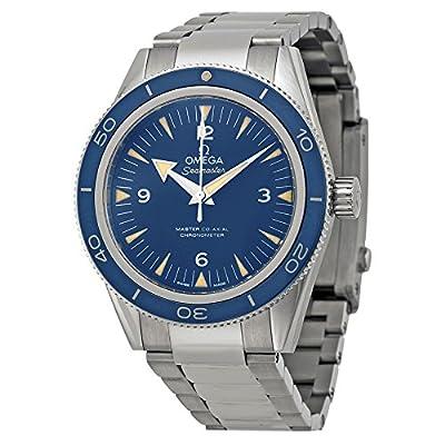 Omega Men's 23390412103001 Seamaster300 Analog Display Swiss Automatic Silver Watch