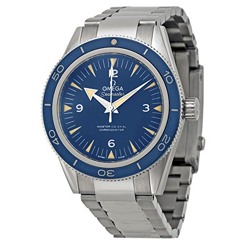 Omega Men's 23390412103001 Seamaster300 Analog Display Swiss Automatic Silver Watch - 51zzrTMsWWL - Omega Men's 23390412103001 Seamaster300 Analog Display Swiss Automatic Silver Watch