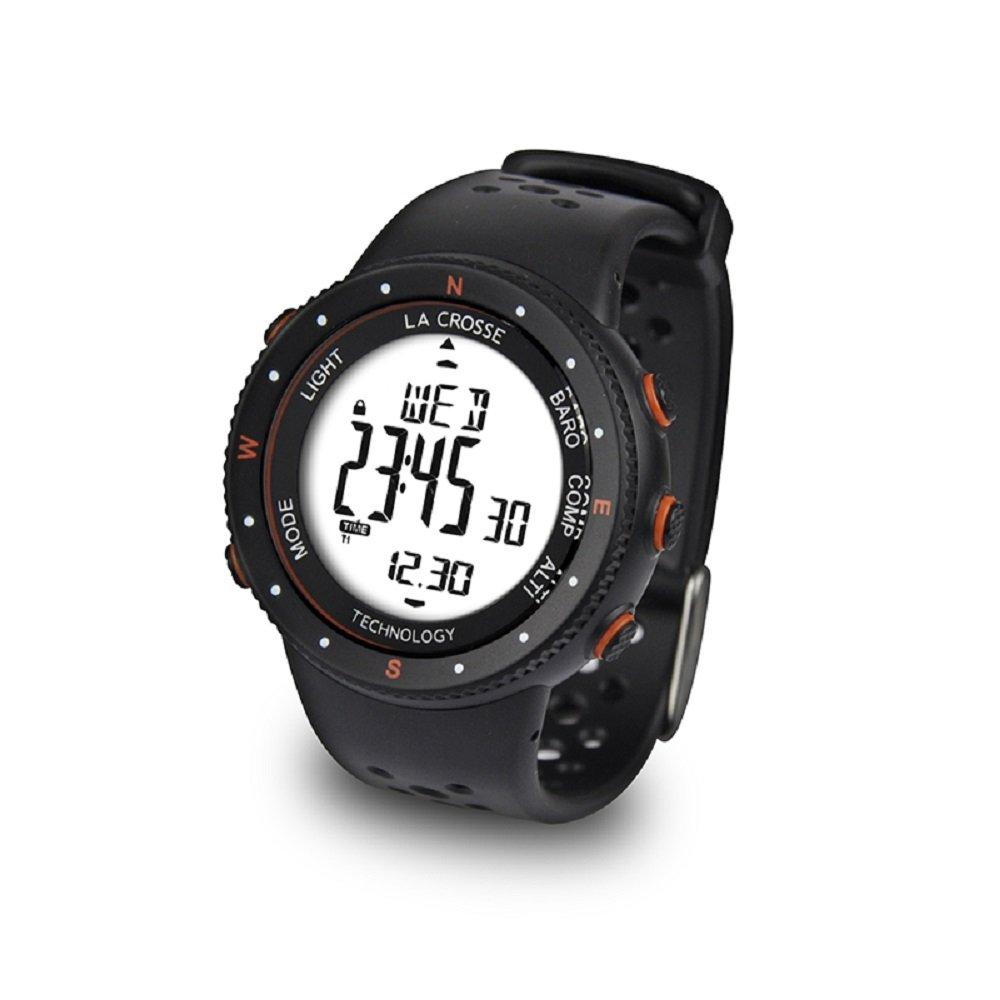 La Crosse Technology, WTXG11, Orologio da Polso con altimetro, barometro e Bussola, Colore: Arancione WTXG-11O