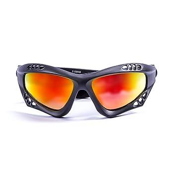 Ocean Sunglasses Australia - Gafas de Sol polarizadas - Montura : Negro Mate - Lentes : Amarillo Espejo (11701.0): Amazon.es: Deportes y aire libre
