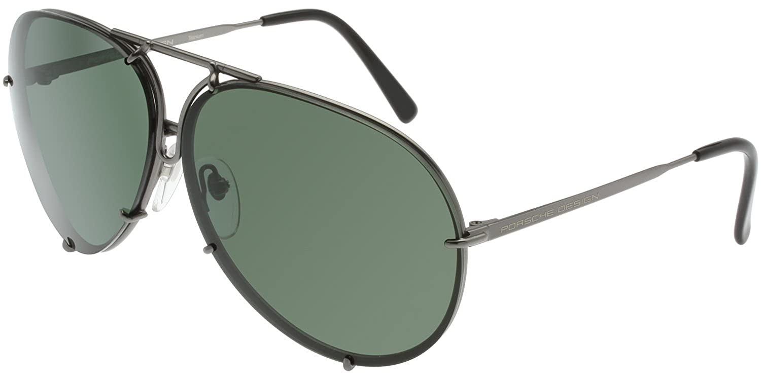 42c2b21ed7e Amazon.com  PORSCHE DESIGN P8478 C Sunglasses P 8478 Gunmetal Frame   Clothing