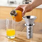 Mini Fruit Juicer Manual Stainless Steel Fruit Lemon Orange Lemon Squeezers Household Fruit Tool Mini Citrus Lime Juice Maker
