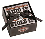 Harley-Davidson Napkin Rally Party Set, 2 Packs of 20, Beverage Size P5514909