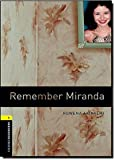 Remember Miranda (Oxford Bookworms; Stage 1)