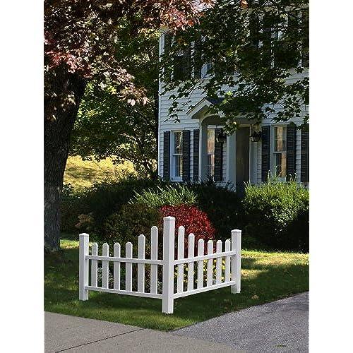 New England Arbors Country Corner Picket