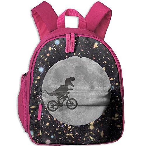 [Children Rex Bicycle Moon Dinosaur Pre School Lunch Bag Pink] (Angel Food Cake Costume)
