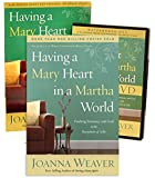 Joanna Weaver Mary Heart Full Set - Having a Mary Heart in a Martha World (Book + Study Guide + DVD)