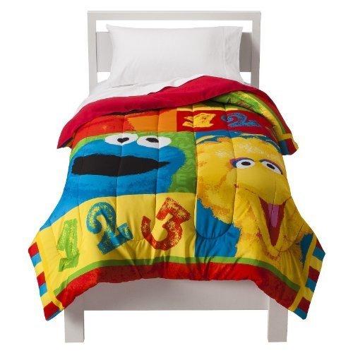 Sesame Street Big Chalk Fun Twin Comforter