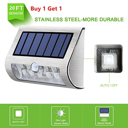 Stainless Outdoor Wall Light - 7