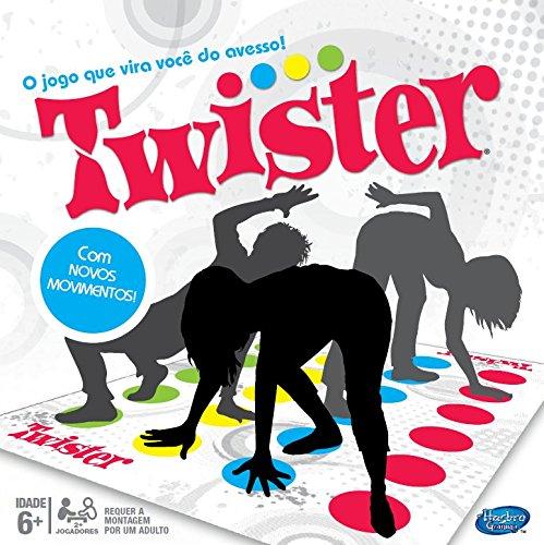 Jogo Gaming Twister Novo, Hasbro, Multicor