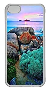 iPhone 5C Case and Cover -Sunset Victoria PC Case Cover for iPhone 5C and iPhone 5C Transparent