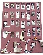 طقم ماكينة خياطة مهايئ Evniset بروفيشنال 32 قطعة متوافق مع جهاز Brother، Babylock، Singer، Elna، إلخ (مجموعة أدوات الخياطة متعددة الوظائف)