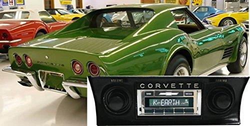 Custom Autosound Stereo compatible with 1968-1976 Chevrolet Corvette, USA-630 II High Power 300 watt AM FM Car (Chevrolet Corvette Radio)