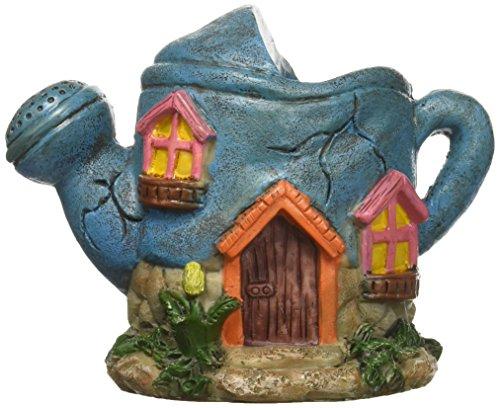 (Darice Mini Fairy Garden House Watering Can Design)