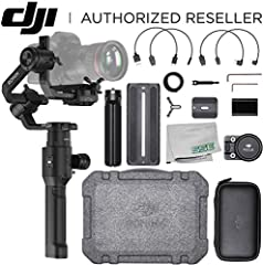 DJI RONIN-S HANDHELD 3-AXIS MOTORIZED GIMBAL STABILIZER This item is used as shown.