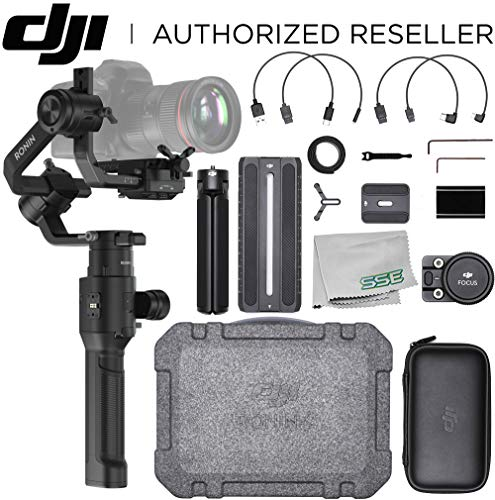 - DJI Ronin-S Handheld 3-Axis Gimbal Stabilizer with All-in-one Control for DSLR and Mirrorless Cameras Starters Bundle - CP.ZM.00000103.02