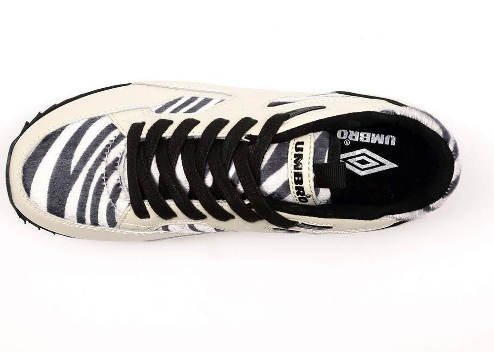 Umbro Elite Mundial Luxe, Zapatillas Deportivas para Mujer, Blanco, Negro, 36 EU: Amazon.es: Zapatos y complementos