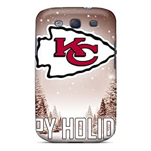 Galaxy S3 Case Slim [ultra Fit] Kansas City Chiefs Protective Case Cover