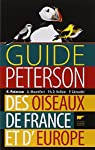 Guide Peterson des oiseaux de France et d'Europe par Peterson