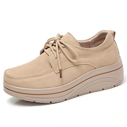 HKR Zapatillas MH3929 para Mujer HKR Beige 8OwEqwd