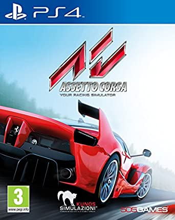 505 Games Assetto Corsa Ps4 Basico Playstation 4 Video Juego Ps4