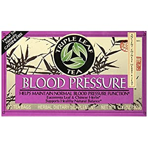 Triple Leaf Tea Blood Pressure Tea Bags, 20 Count