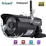 Sricam SP007 Wireless Waterproof Outdoor Wifi HD 720P Security CCTV IP Camera [Black]