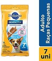 Petisco Funcional Para Cachorros Pedigree Dentastix Cuidado Oral Adultos Raças Pequenas 7 Sticks 110g