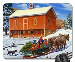 All together Mouse Pad, Mousepad (Winter Mouse Pad)