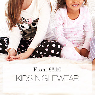 Kids Nightwear from 3.50